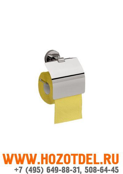 Держатель бытового рулона туалетной бумаги MERIDA HOTEL, полированный., фото