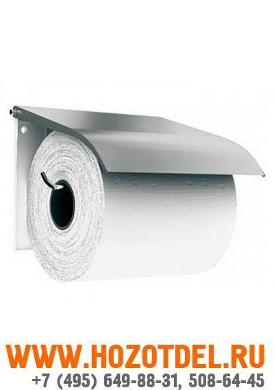 Держатель туалетной бумаги для бытовых рулонов (матовый)., фото
