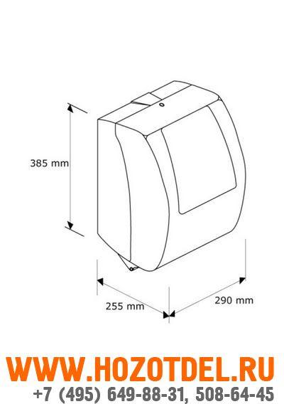 Автоматический держатель бумажных полотенец в рулонах MERIDA TOP MAXI., фото