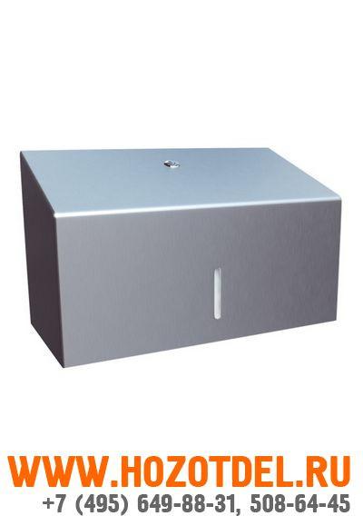 Полотенцедержатель для отдельных бумажных полотенец металлический., фото
