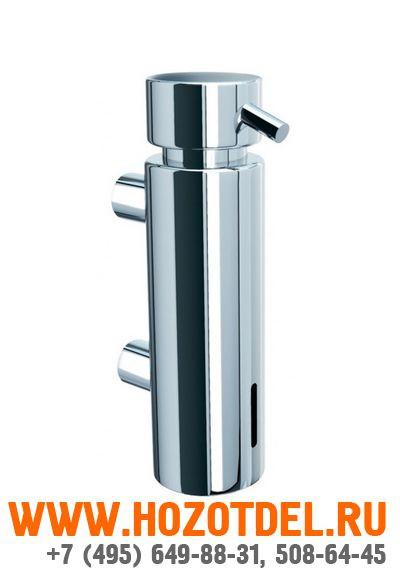 Дозатор жидкого мыла настенный MERIDA VIP. (ХРОМИРОВАННЫЙ), фото