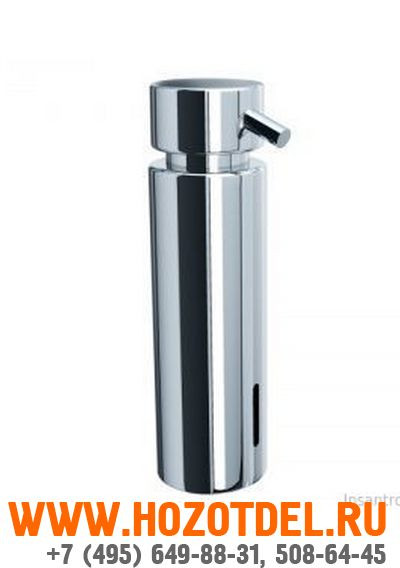 Дозатор жидкого мыла на столешницу MERIDA VIP. (ХРОМИРОВАННЫЙ), фото