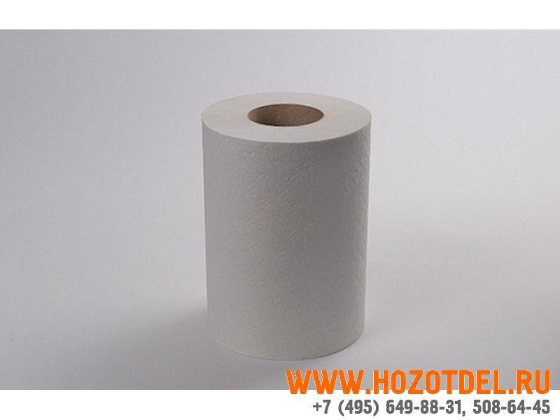 Рулонные полотенца универсальные, втулка 6 см, однослойные (250107)., фото