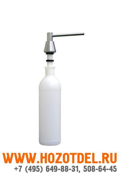 Дозатор жидкого мыла , монтриуемный на столешнице. ПОЛИРОВАННЫЙ, фото