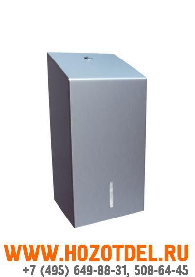 Держатель туалетной бумаги в листах металлический (матовый)., фото